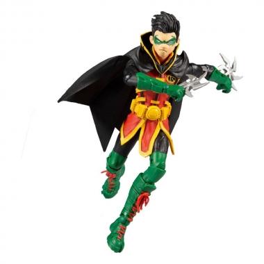 DC Multiverse Figurina Damian Wayne: As Robin 18 cm