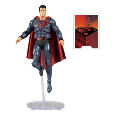 DC Multiverse Figurina Superman: Red Son 18 cm