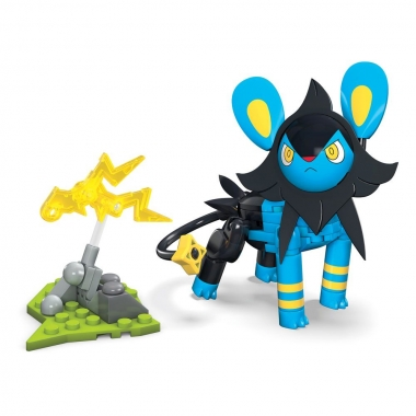 Pokémon Mega Construx Wonder Builders Construction Set Luxio 10 cm