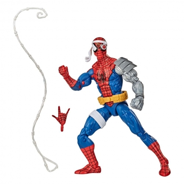 Spider-Man Marvel Retro Collection Figurina Cyborg Spider-Man 15 cm