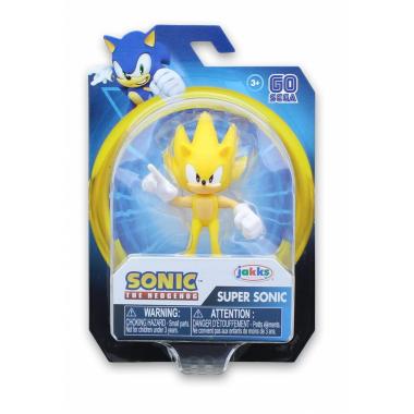 Figurina Modern Super Sonic, Sonic The Hedgehog, 6.5 cm