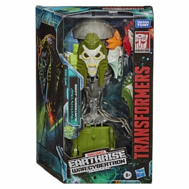 Transformers War for Cybertron: Earthrise Voyager Quintesson Judge