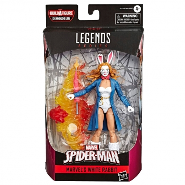 Marvel Legends Series Action Figure 2020 Marvel's White Rabbit (Spider-Man Comics) 15 cm