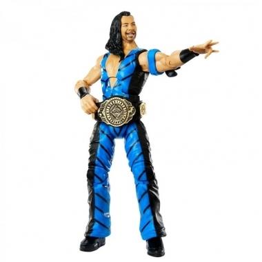 Figurina Shinsuke Nakamura (Blue Gear) - WWE Elite 81, 15 cm