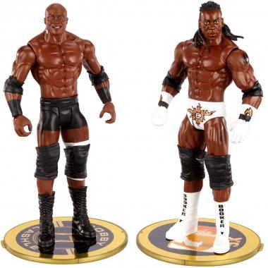Set figurine Bobby Lashley & Booker T - WWE Showdown 2-Packs 2