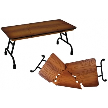 Masa cu blat aspect de lemn - 'Ultimate Table (Wooden)'