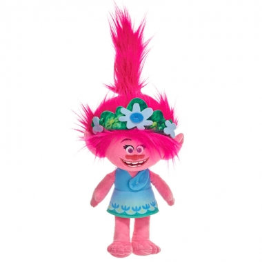 Trolls World Tour - Jucarie de plus Poppy, 30 cm