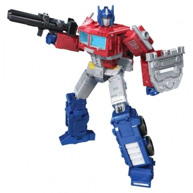 Transformers Generations WFC: Kingdom Leader 2021 W2 Optimus Prime 18 cm