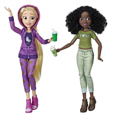 Set Papusi Printese Disney - Rapunzel si Tiana