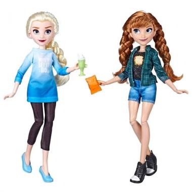 Set Papusi Printese Disney - Elsa si Anna