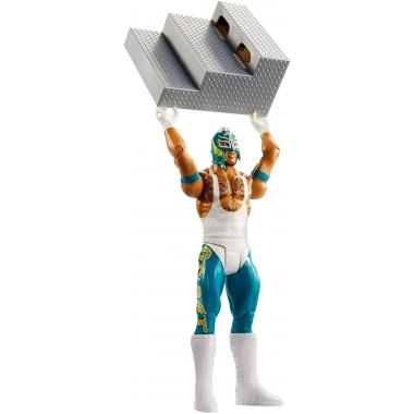 WWE Wrekkin' Figurina de actiune Rey Mysterio, 15 cm
