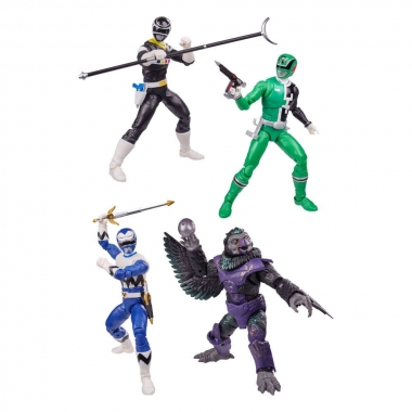 Power Rangers Lightning Collection Action Figures 15 cm 2021 Wave 3 Assortment (4)