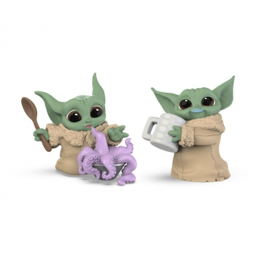 Star Wars Mandalorian Bounty Collection Figure 2-Pack The Child Tentacle Soup & Milk Mustache