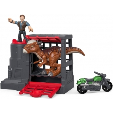 Imaginext Jurassic World Stygimoloch si Owen