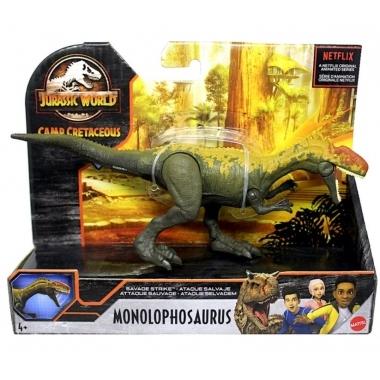 Jurassic World Savage Strike - Dinozaur Monolophosaurus 20 cm