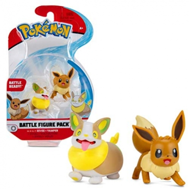 Pokémon Battle Minifigurine Eevee & Yamper 5 cm