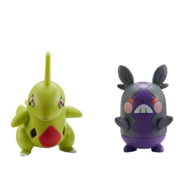 Pokémon Battle Minifigurine Larvitar & Morpeko 5 cm