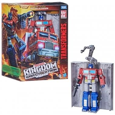 Transformers Generations War for Cybertron: Kingdom Action Figure Leader Class Optimus Prime 18 cm