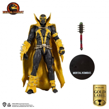Mortal Kombat Action Figure Spawn (Curse of Apocalypse) (Gold Label Series) 18 cm
