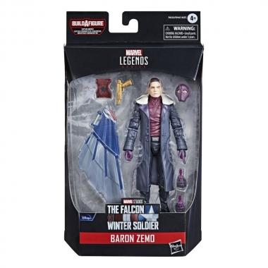 Avengers Disney Plus Marvel Legends Series Action Figure Baron Zemo 15 cm