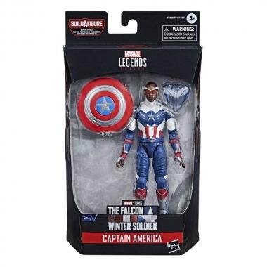 Avengers Disney Plus Marvel Legends Series Action Figure Captain America 15 cm