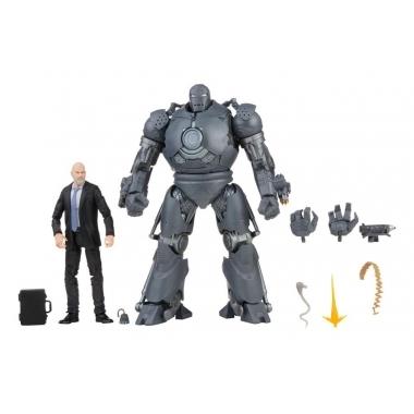 The Infinity Saga Marvel Legends Action Figures 2021 Obadiah Stane & Iron Monger (Iron Man) 15 cm