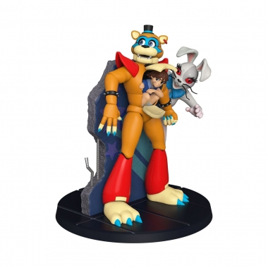Five Nights at Freddy's: Security Breach POP! Statues Vinyl Statue Freddy & Gregory 30 cm
