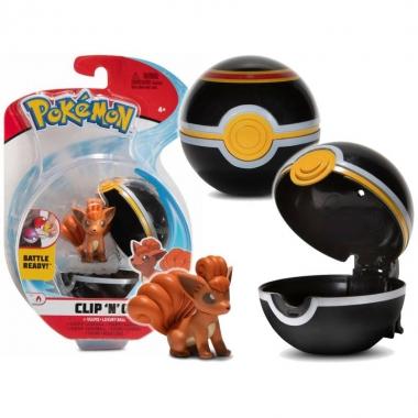 Pokémon Clip 'N' Go Pokeball Vulpix 5 cm