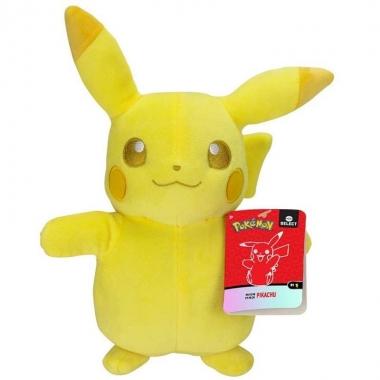 Jucarie de plus Pikachu - seria Pokémon Monochrome 20 cm