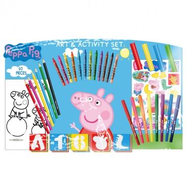 Peppa Pig - set activitati 60 piese (53 x 5 x 37 cm)