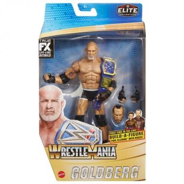 Figurina Goldberg - WWE Elite WrestleMania 37