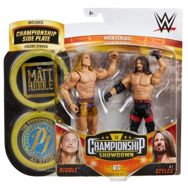 Set figurine Matt Riddle & AJ Styles - WWE Showdown 2-Packs 4
