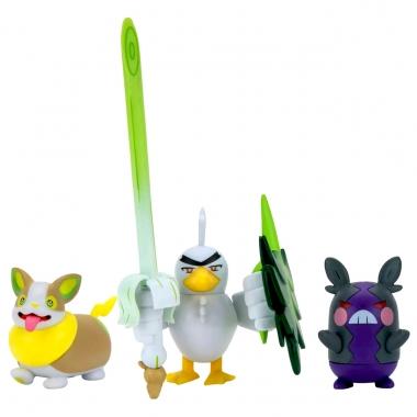 Pokémon Battle Sirfetch'd, Morpeko si Yamper 5-8 cm