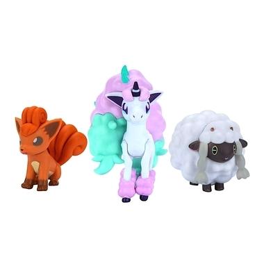 Pokémon Battle Galarian Ponyta, Vulpix si Wooloo 5-8 cm