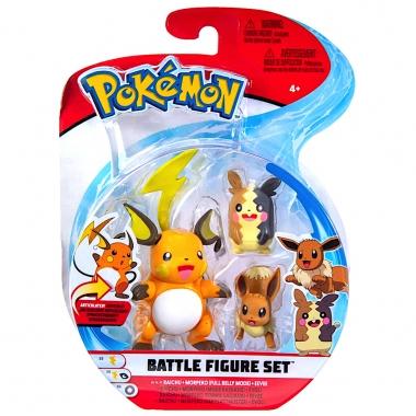 Pokémon Battle Raichu, Morpeko si Eevee 5-8 cm