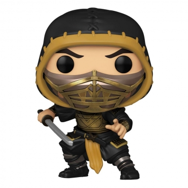 Mortal Kombat Movie POP! Movies Vinyl Figures Scorpion 9 cm