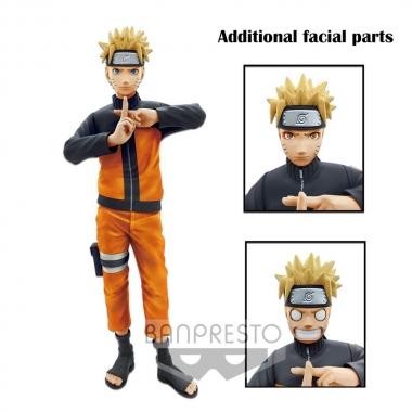 Naruto Shippuden Grandista nero Figure Uzumaki Naruto (statueta 23 cm)
