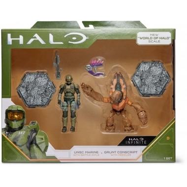 Halo UNSC Marine vs. Grunt Conscript 10-12 cm