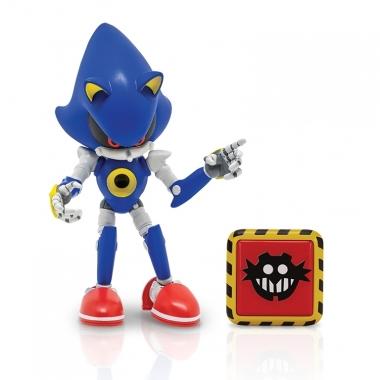 Sonic Figurina Metal Sonic 10 cm cu accesorii (Trap Spring)