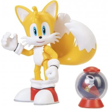 Sonic Figurina Modern Tails 10 cm (Fast Shoe Item Box)
