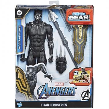 Marvel Avengers - Figurina Black Panther Titan Hero Series 30 cm