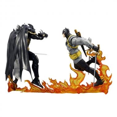 DC Multiverse Action Figure Collector Multipack Batman vs Azrael Batman Armor 18 cm