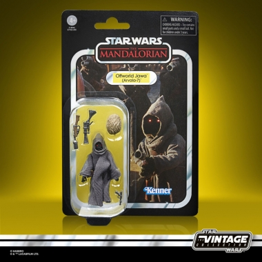 Star Wars The Mandalorian Offworld Jawa Arvala-7 10 cm