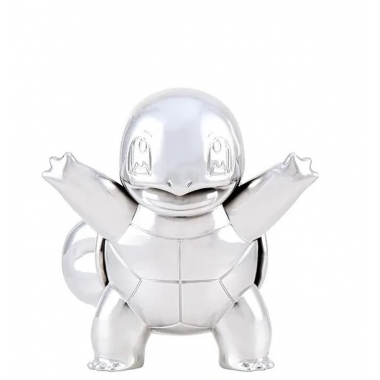 Pokémon 25th anniversary Select Battle Mini figures Silver Version , Squirtle 7 cm