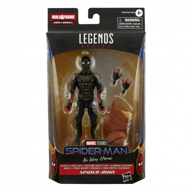 Figurina Spider-Man Marvel Legends (Black & Gold Suit) (Spider-Man: No Way Home) 15 cm