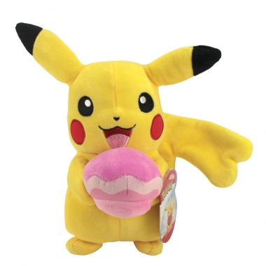 Pokémon - Jucarie de plus Pikachu cu pokeball 20 cm