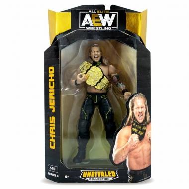 Figurina Chris Jericho AEW Unrivaled, 18 cm