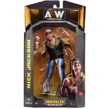 Figurina Nick Jackson AEW Unrivaled, 18 cm