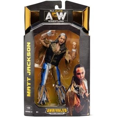 Figurina Matt Jackson AEW Unrivaled, 18 cm