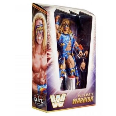 Ultimate Warrior (WrestleMania 12) WWE Elite Ringside Exclusive, 17 cm